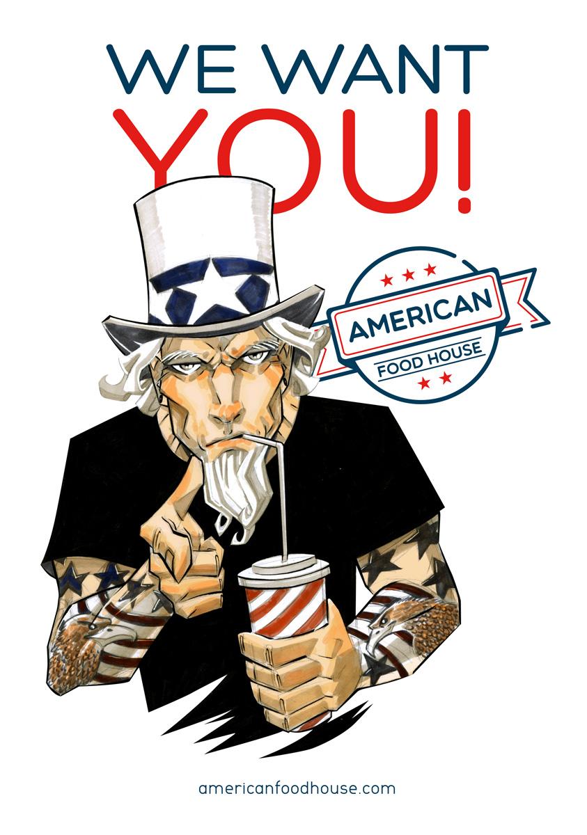 Uncle Sam by CTrigo on DeviantArt