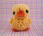 Amigurumi Yellow Duckie by misfitcreatures
