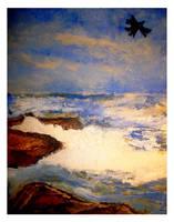 Painting of the Rocks II by tas-poetry