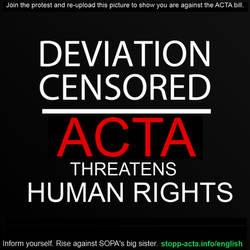 stop stop acta by malerfique