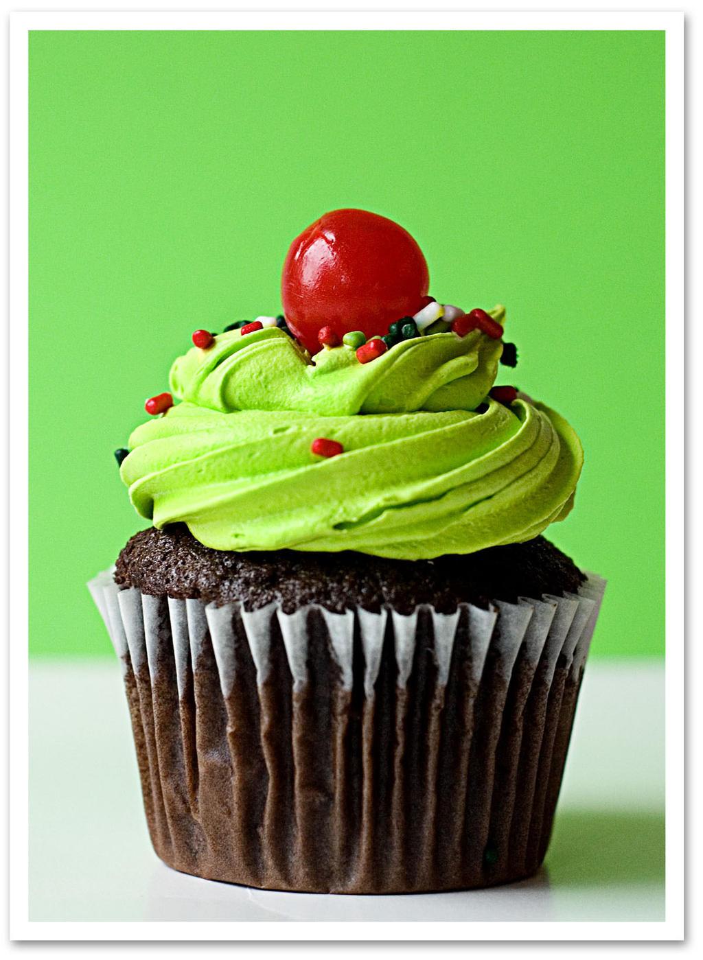 CupcakeGreen by Ddallas