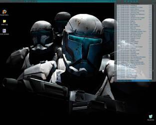 Commando Desktop by Wooleen