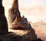 Concept Landscape - Canyon - Creatingsaba