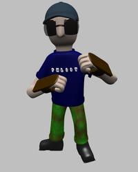 Stat - Blender Character