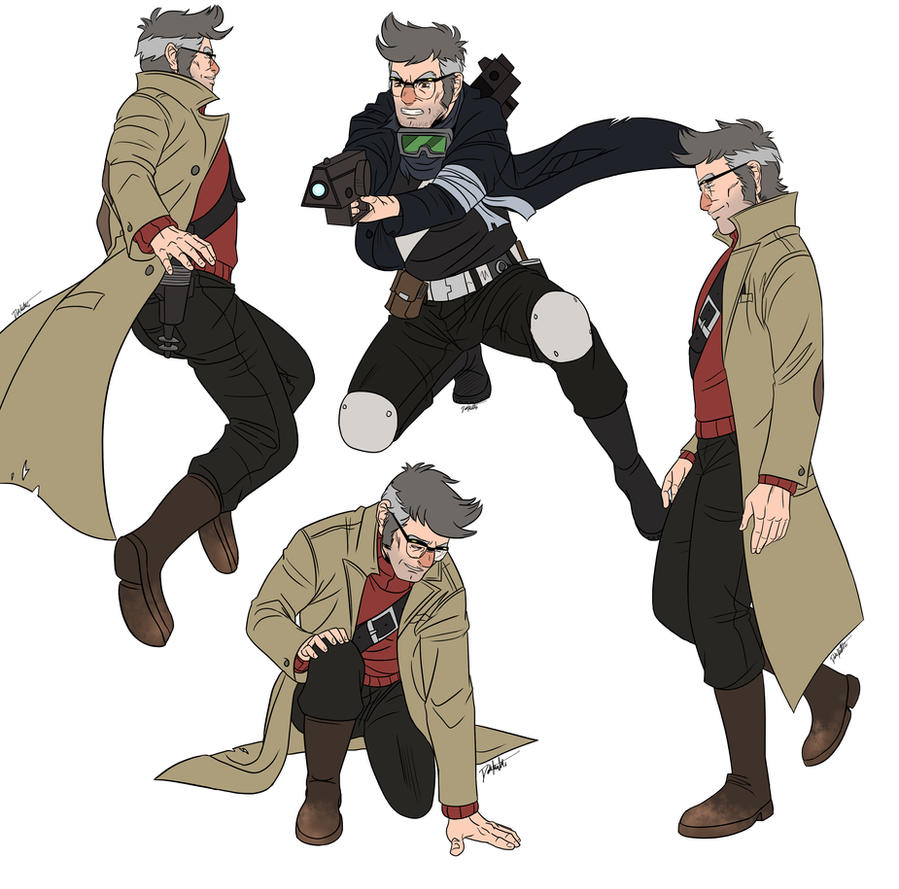 Ford Action Poses By Dobermutt On Deviantart
