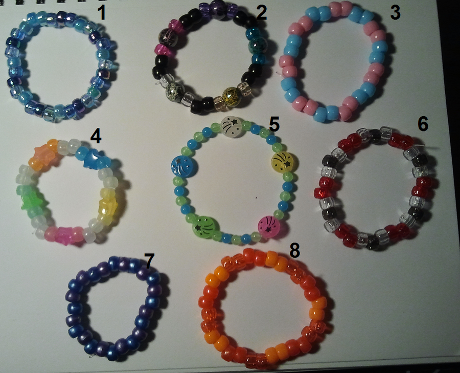 Kandi 1-8 for sale/trade by anne-t-cats