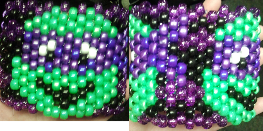 Donatello kandi cuff by anne-t-cats
