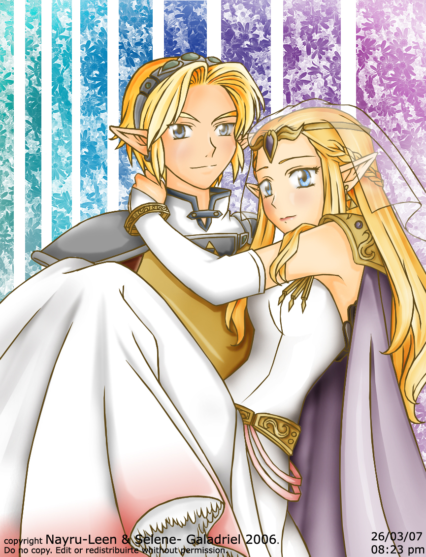 LinkxZelda Wedding by Nayru-LeenZelda And Link Wedding
