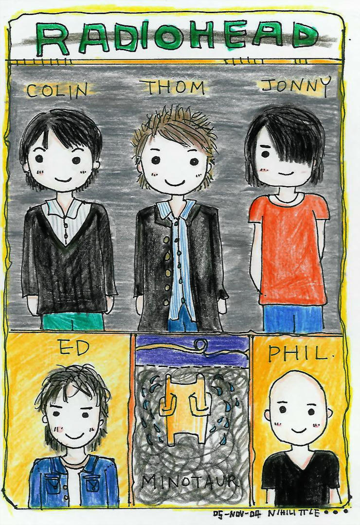 Radiohead by Nihilittle