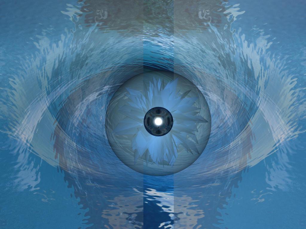 Blue Eye Swirl