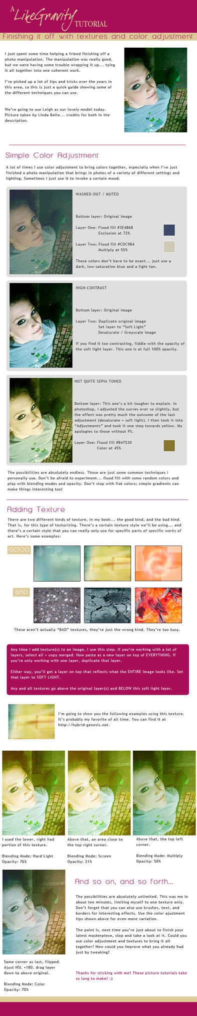 Tutorial - Color and Textures by LikeGravity
