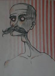Mr Moustache man