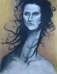creepy lady of yellowness