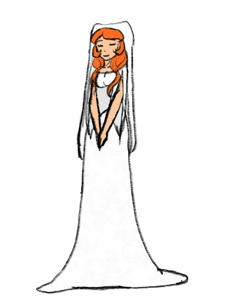 Wakfu Wars: Tia\'s Wedding Dress by Mouse-La-Flutist on DeviantArt