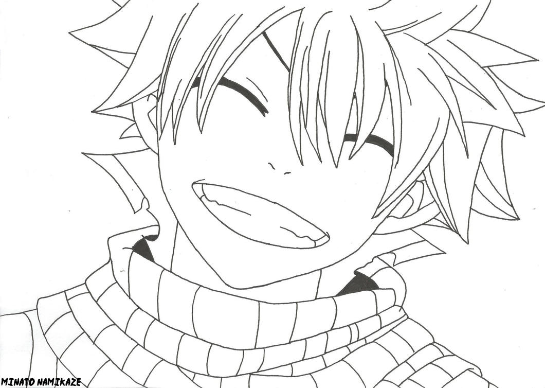 Fairy Tail Para Colorear: Natsu Dragneel Coloring Pages Coloring Pages
