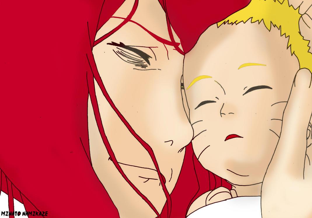 Kushina and Naruto by 4thminatonamikaze