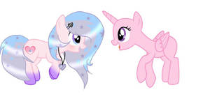 Collab With Candy Starry mlp oc