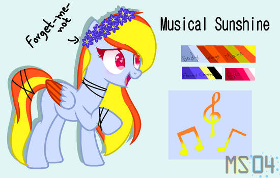 Musical Sunshine Redesign Base Edit