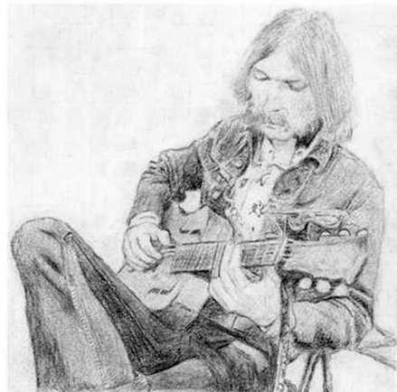 Duane Allman by cloudybrain