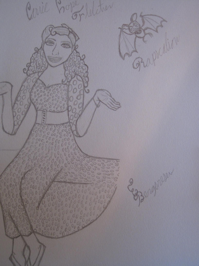 Carrie Hope Fletcher and Rapscalion by Fredalice