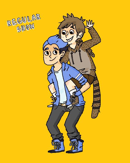 Finn Jake vs Mordecai Rigby Mordecai And Rigby vs Finn