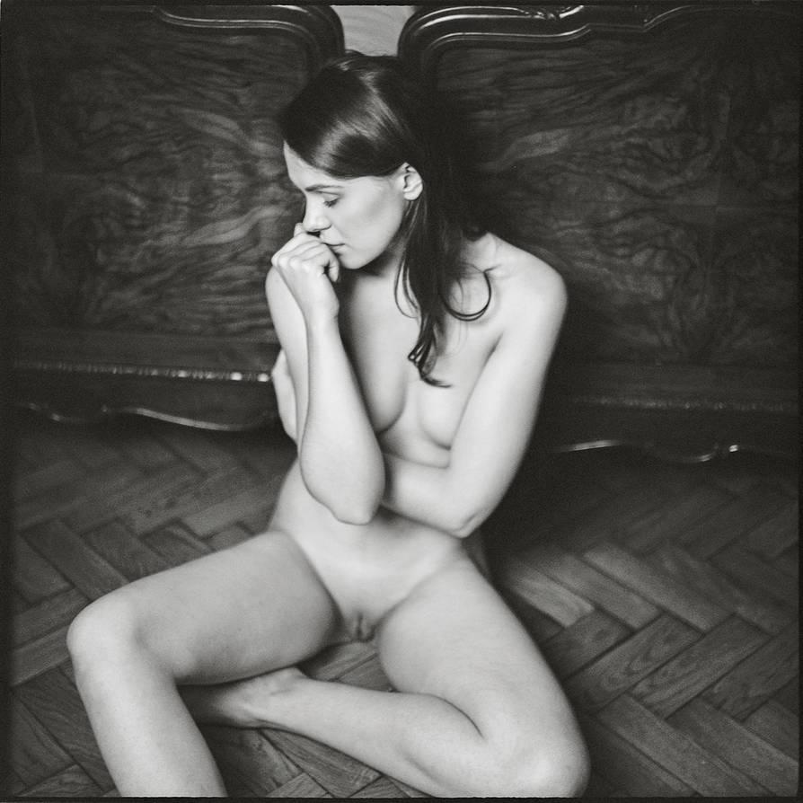 Shy girl by A-Finch