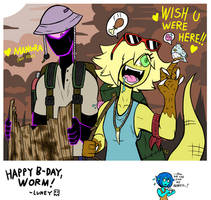 GIFT: Wish You Were Here!