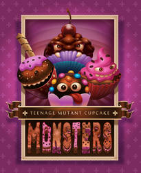 Teenage Mutant Cupcake Monsters