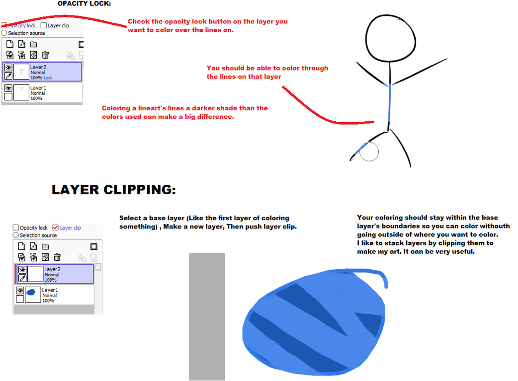 Clipping Mask Paint Net