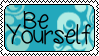 Be Yourself - stamp by Miwwi