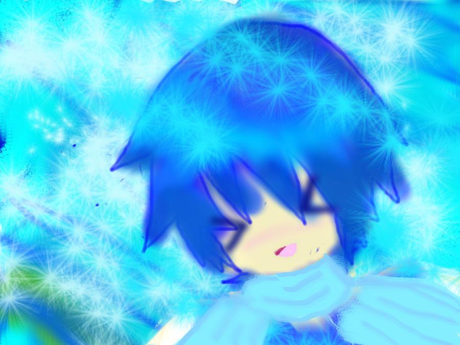 Kaito Fliying in Space :D by miyaco-gotokuji610