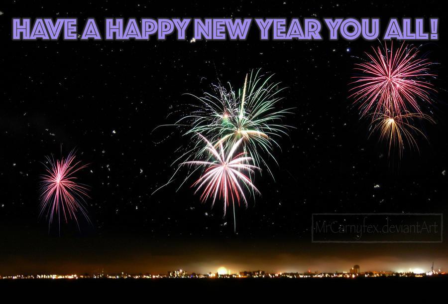 Happy New Year by MrCarnyfex