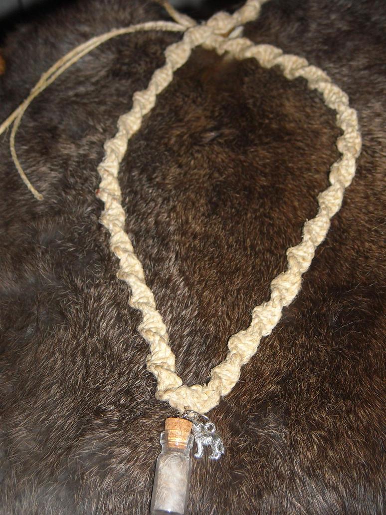 Wolf totem necklace - photo#22