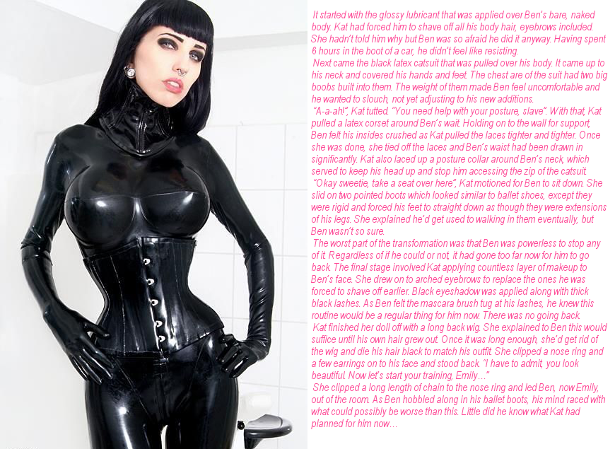 Latex Doll Transformation 91