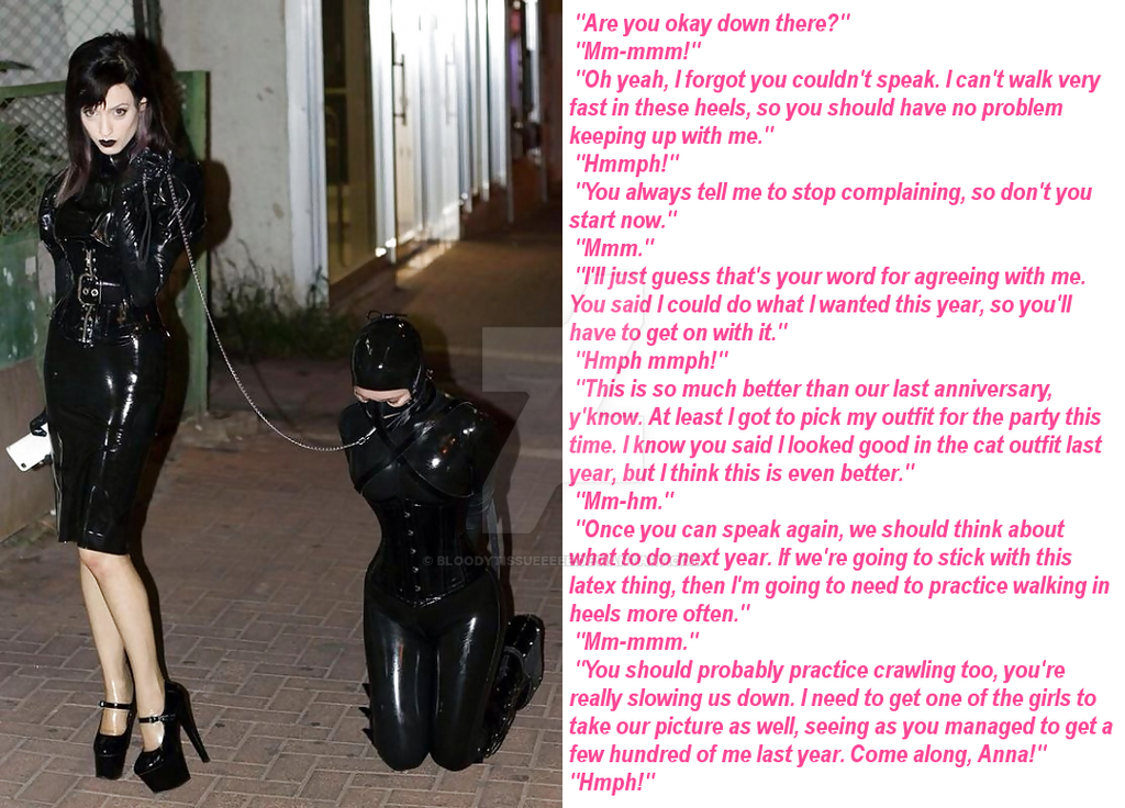 Missionary tg captions latex slave