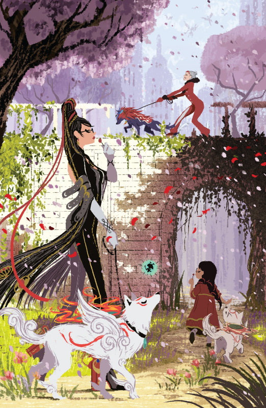 Bayonetta: Vigrid Stroll by Fenryk
