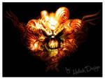 Artwork Skull by helick