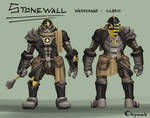 The Wall - Commission for Li Faung