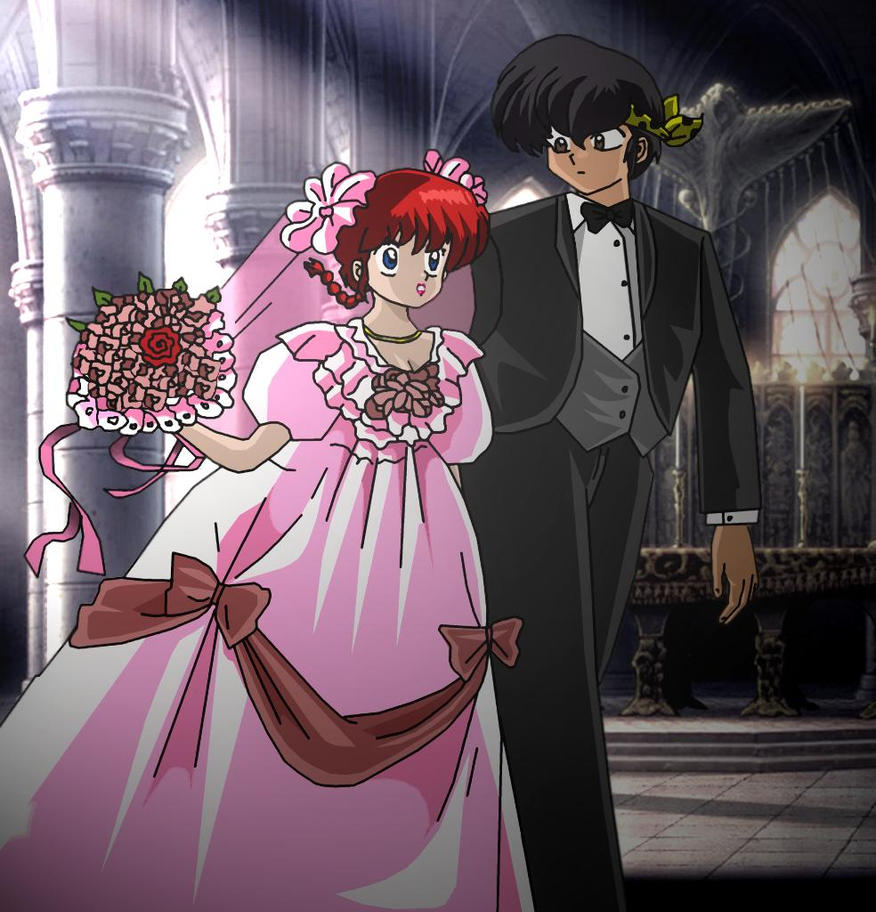 ranma and ryoga wedding by hainfinkle on deviantart