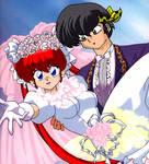 Ranma chan Wedding 4