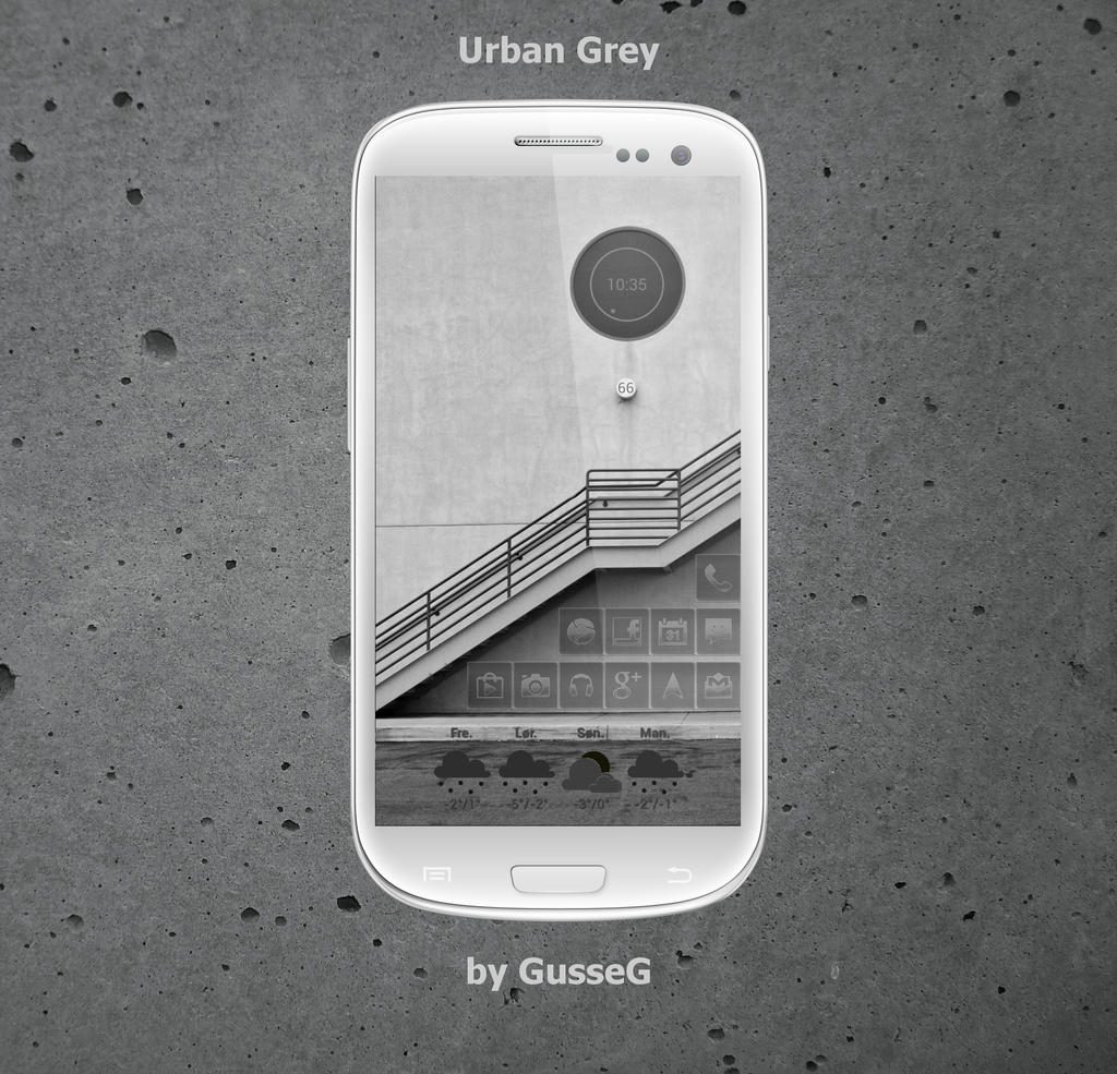 Urban Grey by GusseG