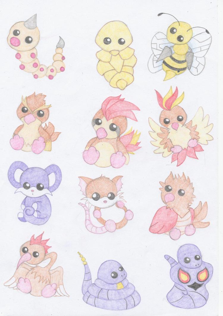 Pokemon 13-24 by Bonzo-1039