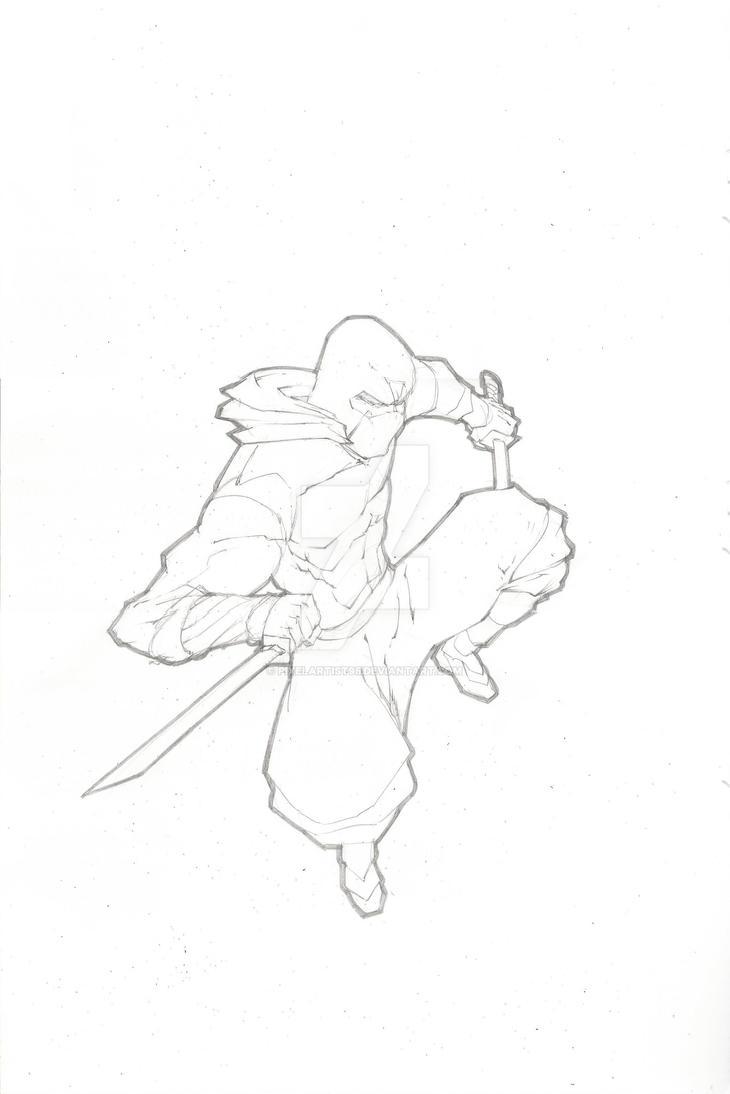 Storm Shadow Sketch by PixelArtist95