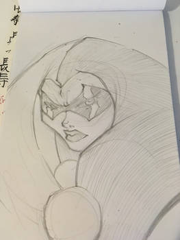 Harley warmup sketch