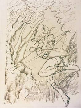 Elf archer commission