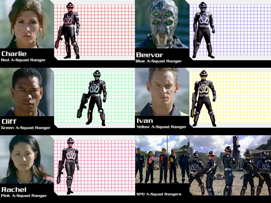 Tokusō Sentai Dekaranger / Power Ranger SPD Power_rangers_spd_season_13_a_squad_rangers_by_gera27-d7yzgjw