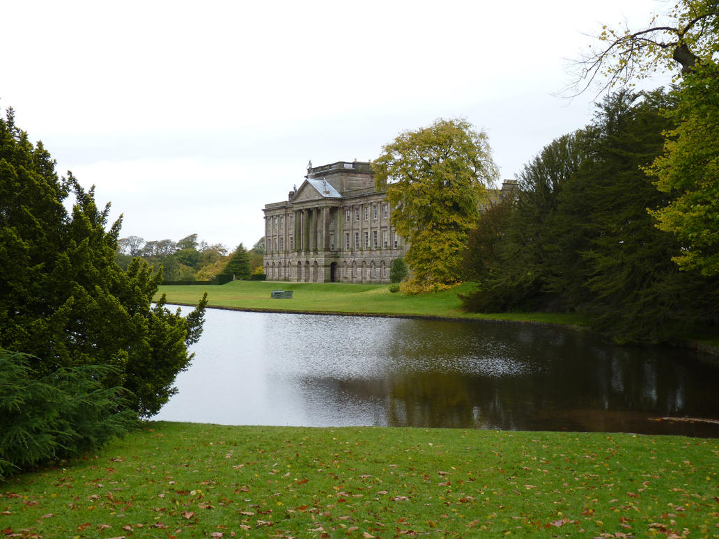 Lyme Hall and Lake by lazykeptwoman