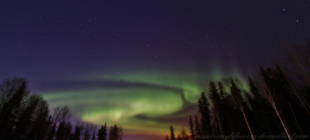 Aurora Spirals by musicismylife10027