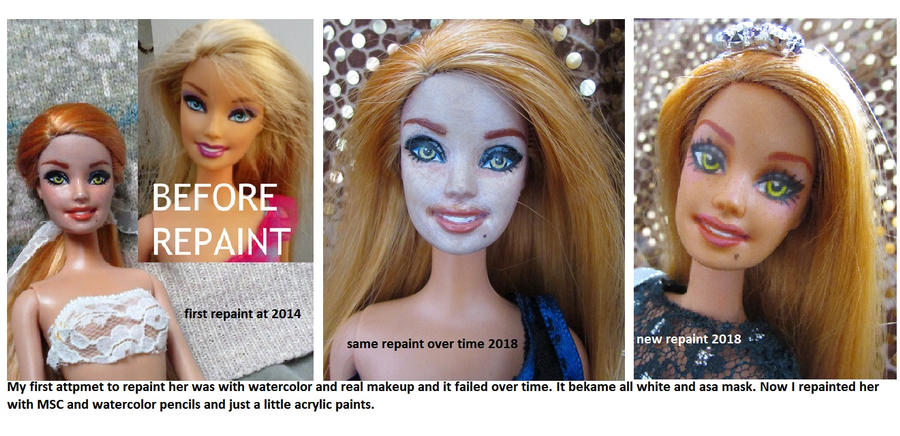 Do This Again Lucrezia Doll Repaint 2014 To 2018 By Nefrit On Deviantart