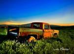 Old Truck by Miztliyuma